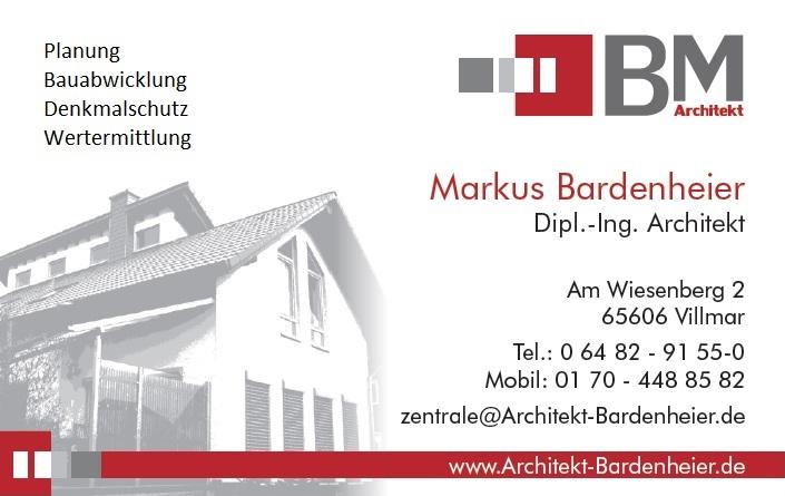 Markus Bardenheier Architekt Villmar
