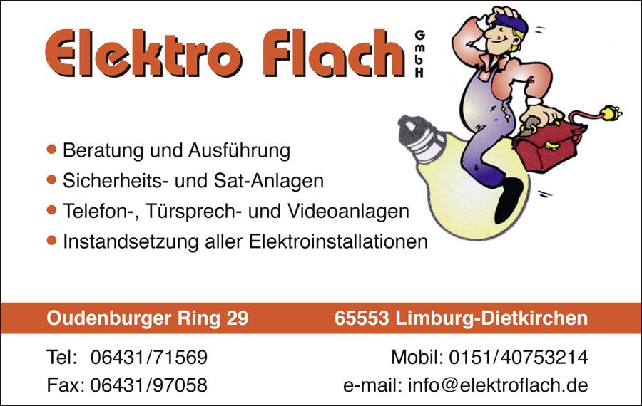 Elektro Flach Elektriker Limburg Dietkirchen