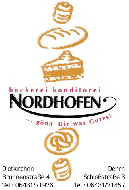 Bäckerei Nordhofen Limburg Dietkirchen Runkel Dehrn