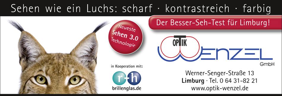 Optik Wenzel Limburg r+h Sehtest Gleitsicht