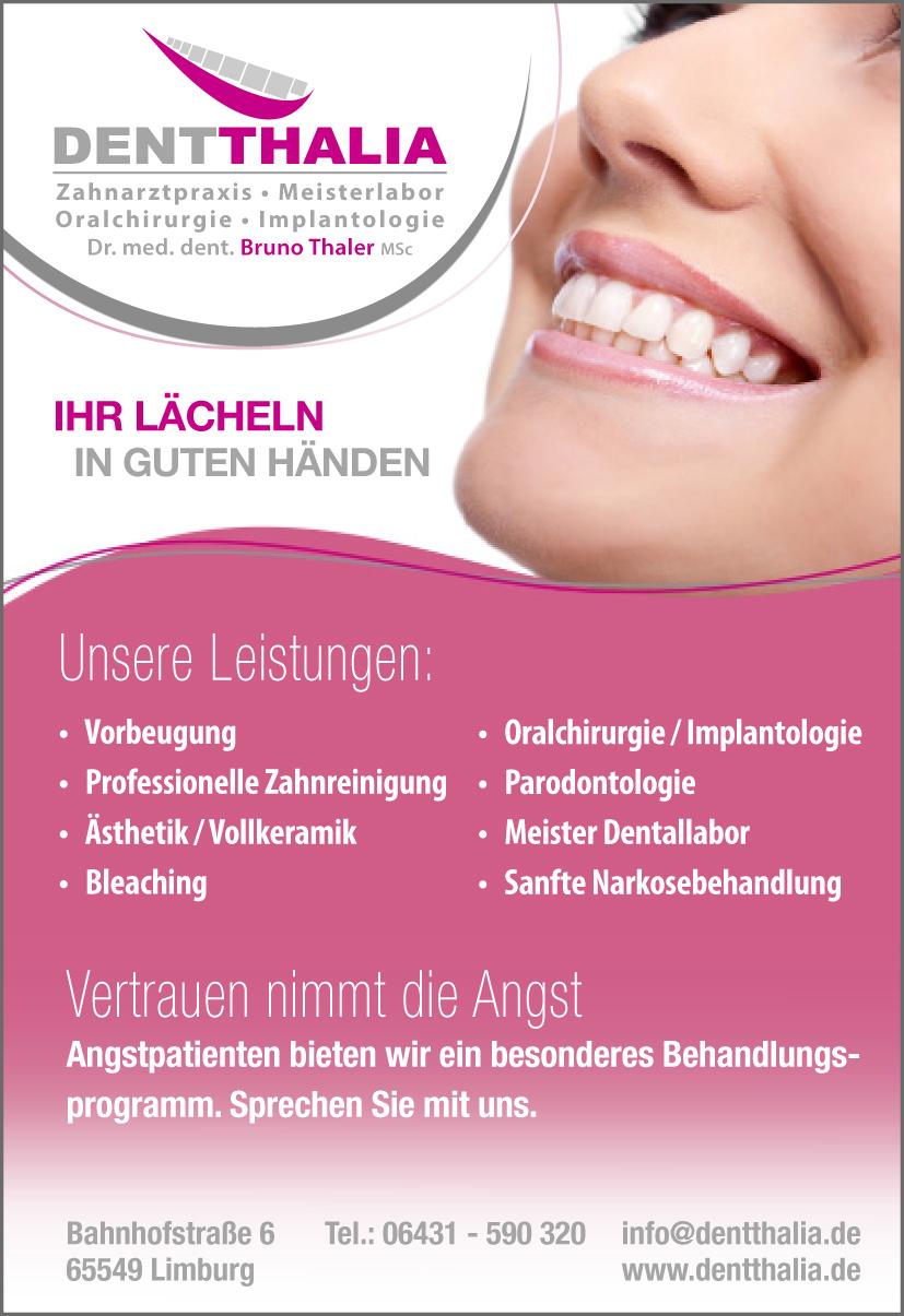Dentthalia Bruno Thaler Zahnarzt Oralchirurgie Implantate Zahnlabor Limburg Dietkirchen