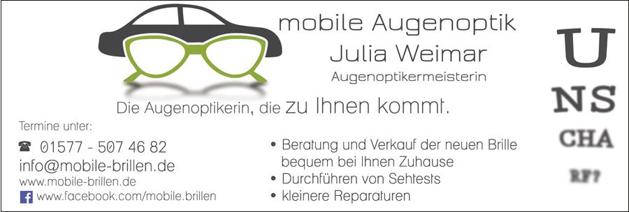 Julia Weimar Mobile Augenoptik Limburg