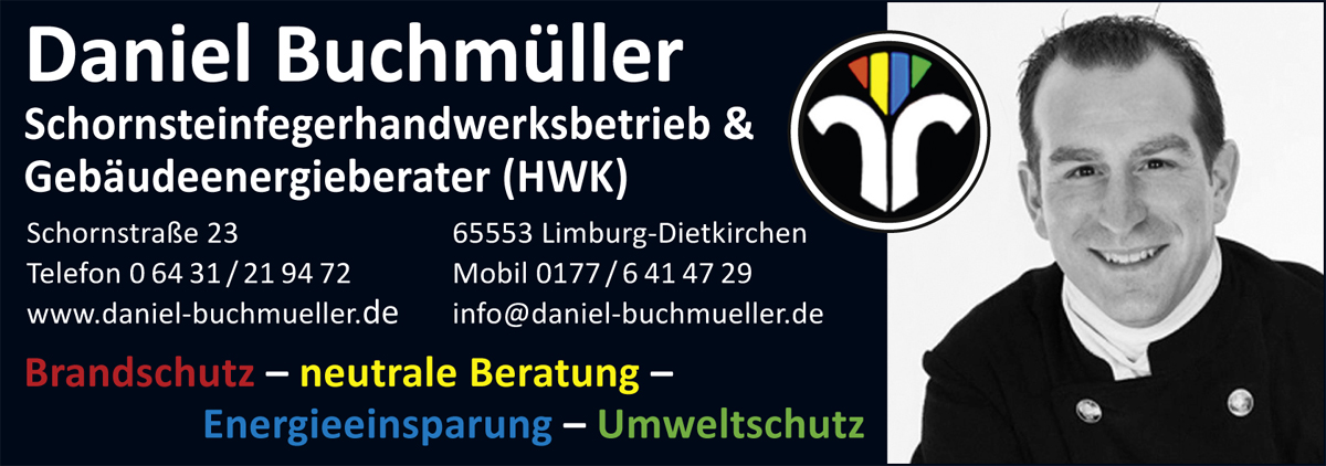 Daniel Buchmüller Schornsteinfeger Energieberater Limburg Dietkirchen