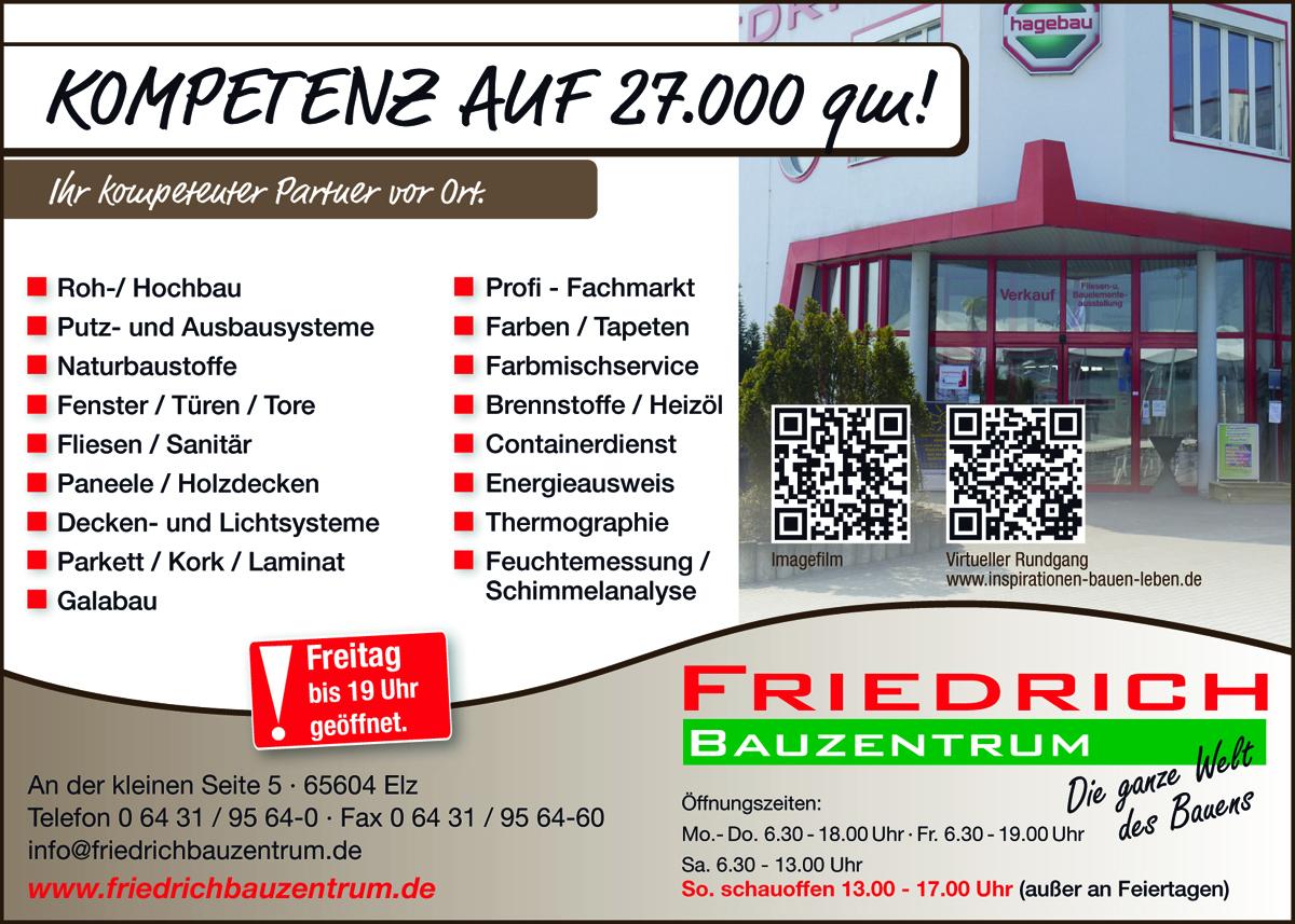 Friedrich Bauzentrum Elz